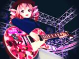 【MMDロック選手権】Tetoさんオリジナル風レスポールで参選!