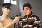 被疑者脅迫!警察官の逆襲