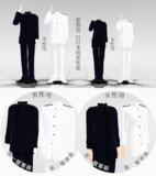 旧日本海軍軍服 男性用/女性用【MMD衣装配布】