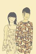 桃子と千奈美