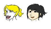 白人のほうが日本漫画キャラに似ているらしいよ