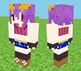 【Minecraft】憤怒ゆかりスキン見本