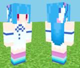 【Minecraft】琴葉葵スキン見本