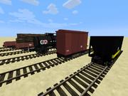 【minecraft】国鉄風貨車の配布【TrainCraft用】