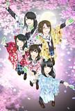 ハナヤマタ~花彩よさこい祭二組目フラスタ&寄書色紙イラスト