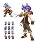 自作RPGキャラクターデザイン01