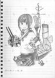 吹雪ちゃん似顔絵 (模写)