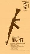 【AVA】スマホ用壁紙ver.AK47