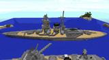 巡洋戦艦 蓬萊 就役!!