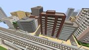 【Minecraft】強制的にビル作りまくった