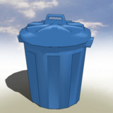 【MMD-OMF5】ゴミ箱