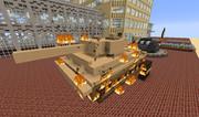 【Minecraft】だから木で戦車を作っちゃ駄目なんだって