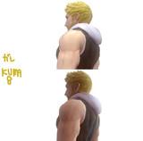 【MMD】おっさんの背中
