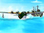 二式大艇と秋津洲