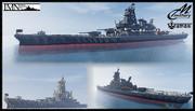 【Minecraft】アイオワっぽい戦艦