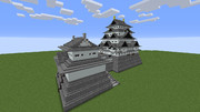 【Minecraft】名古屋城・大天守&小天守のみ【えちから鯖】