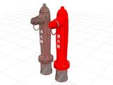 古い消火栓(改)と新しい消火栓-配布します。