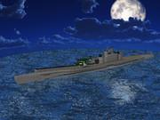 【MMD-OMF5】【MMD海軍】 巡潜甲型改2 伊14