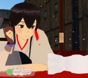 【MMD-OMF5】ぴょん式赤城