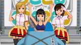 【MMD-OMF5】流川ガールズの奈々子ちゃんと縁さん