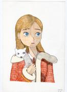 「雪の女王」(2012年版)より、ゲルダ