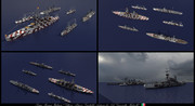 【minecraft】WW2イタリア艦隊