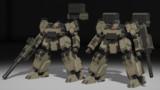 【MMD-OMF5】GA03-SOLARWIND【モデル配布】