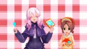 【MMD-OMF5】ねるねトースト【アクセ配布】
