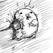 鳩が豆鉄砲を食ったような顔