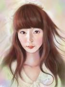 dropの杉野静香さんを描いてみた