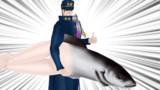 【MMD-OMF5】斜道式空条承太郎と魚人配布【05/05更新】