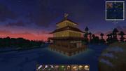 【Minecraft】金閣建てたよヾ(・∀・。)ノ
