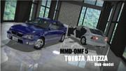 【MMD-OMF5】トヨタ・アルテッツァ モブ用モデル 配布します