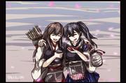 赤城と加賀‐桜酒‐