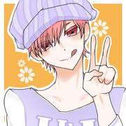 【フリーアイコン】ピンク髪