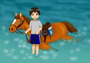 馬(水属性)