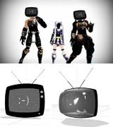 【配布終了】ECHO用突貫TV
