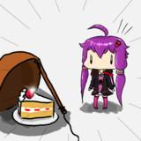 ゆかりんとケーキ