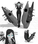【MMD艦これ 】戦艦ル級ver0.71【モデル配布あり】