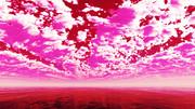 【MMDステージ配布】赤い雲 Z9【スカイドーム】