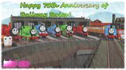機関車たちの物語が生まれて、今日で70年……