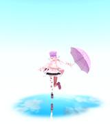 雨上がりに無邪気にはしゃぐきみ【第零回MMDイイ女選手権】