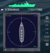 World of Warship コンパスMOD
