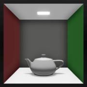 【MMD】Utah Teapot & Cornell Box