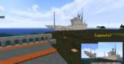【Minecraft】遠洋カツオ漁船 わたつみ丸