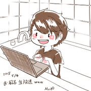 【落書】お風呂生放送(X