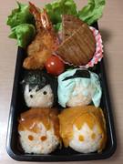 【艦これ】第六駆逐隊キャラ弁当