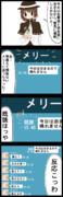 【四コマ】恐怖!メリーの狂気の愛!!