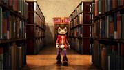 図書館をふらふらと