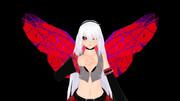 【MMD】某喰種のOPの羽っぽいアレ